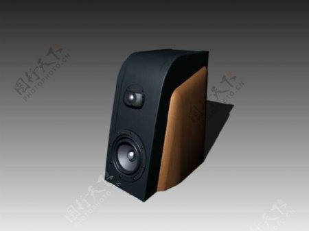 音箱3d模型电器模型图片33