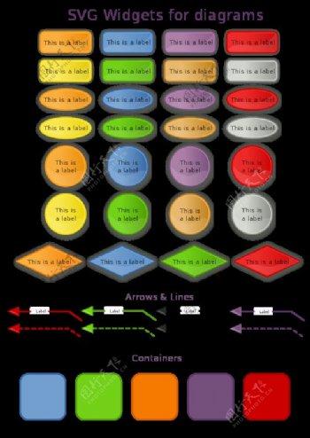 SVG组件图