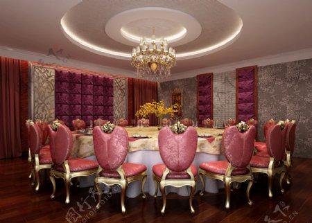 餐厅效果图图片