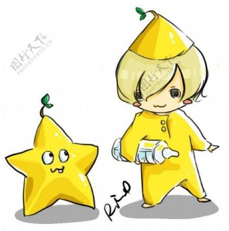 小星星的光芒