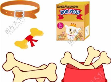 宠物食品骨头图片