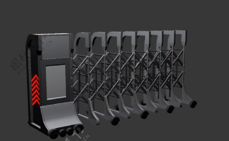 电动门模型图片