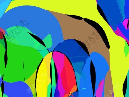 抽象画抽象图案