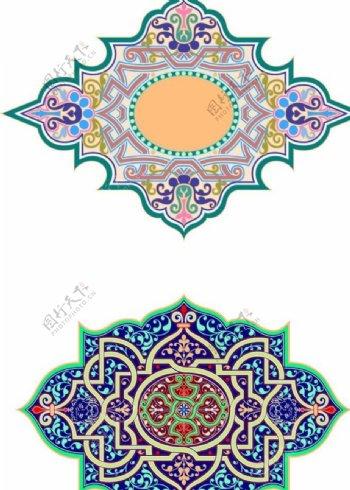 西方古典花纹