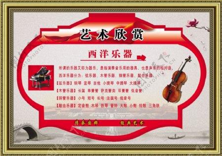 西洋乐器简介