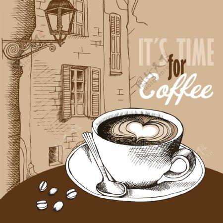 欧洲风格咖啡