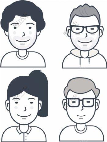 用户头像图标SVG
