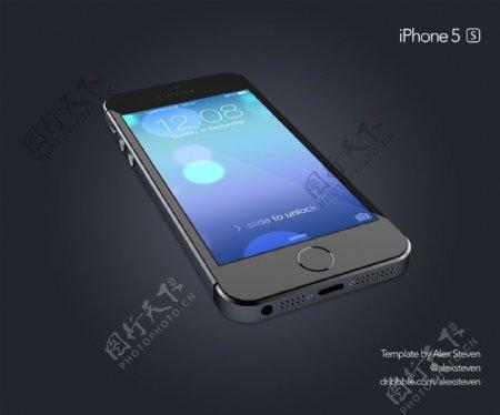 IPhone5SPSD免费下载
