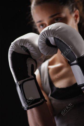 女子拳击手图片