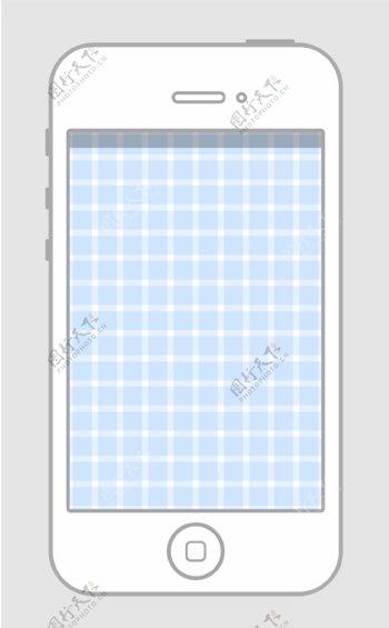 iPhone4扁平造型