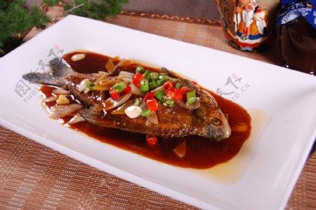 红烧鱼素材图片