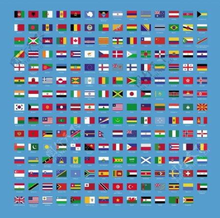 各国国家国旗矢量图总汇
