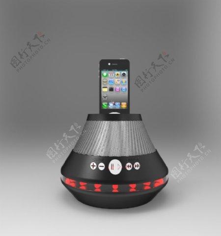 iPod扬声器底座