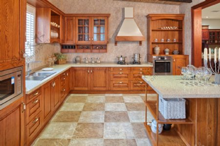 欧洲风格厨房装饰设计