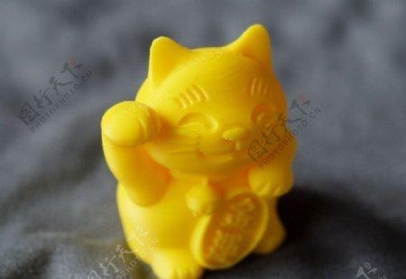 招财猫3D打印模型