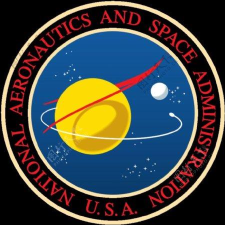 美国宇航局的印章