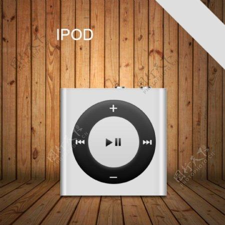 苹果iPod图标分层文件