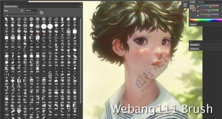 海量私人收藏的Photoshop笔刷素材整理打包制作成abr下载