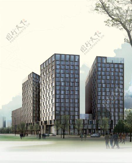 商业大厦环境设计图片