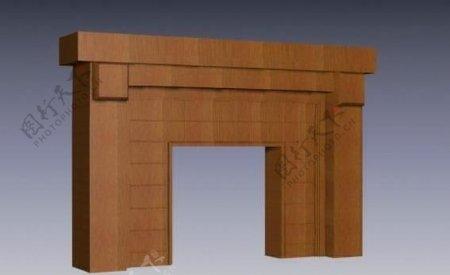 建筑构件之杂项3D模型E009