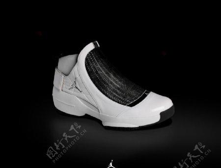 乔丹专业篮球鞋广告