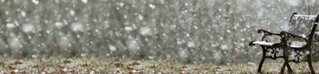 飘雪的天空1920雪景背景素材
