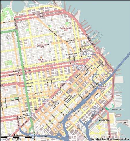 地图矢量图素材