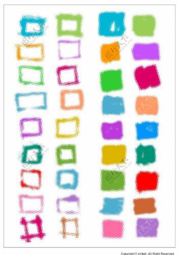 笔刷设计应用背景图案矢量素材AI格式0305