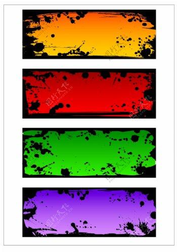 笔刷设计应用背景图案矢量素材AI格式0352