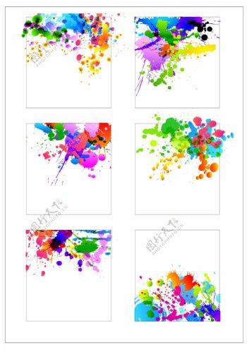 笔刷设计应用背景图案矢量素材AI格式0362