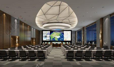 中国天气预报会议室装修效果图