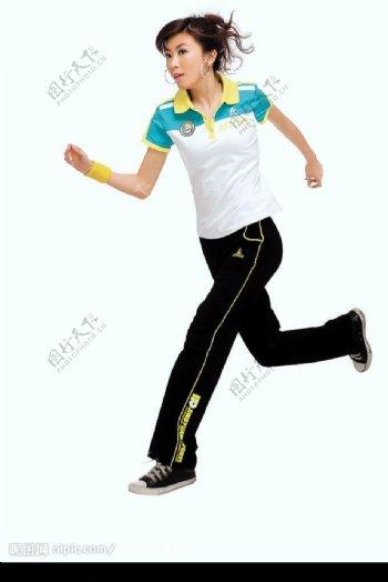 运动休闲女孩10