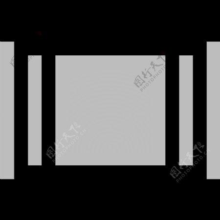 常用SVG矢量格式灰白小图标集动作类