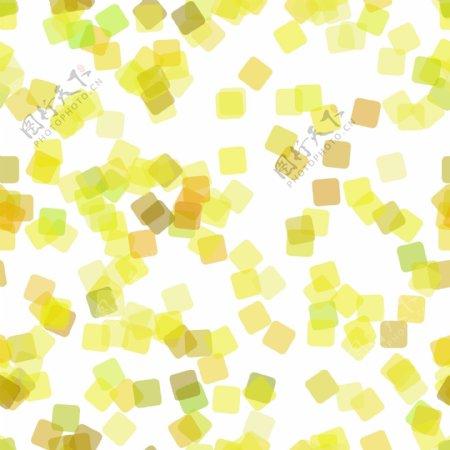 不透明度旋转随机正方形的抽象几何正方形图案背景矢量图