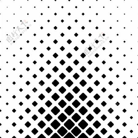 单色抽象正方形图案背景对角线正方形的几何矢量图形设计