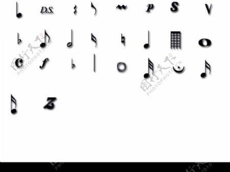音乐符号完全版ABR