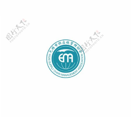 无锡供应链管理协会LOGO商标设计