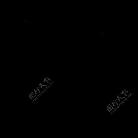 黑白SVG矢量格式演讲图标集