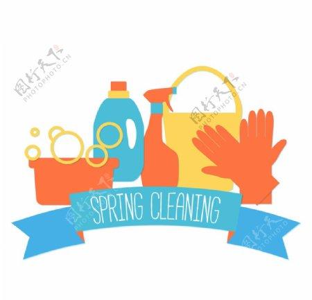 环保清洁图标保洁家政