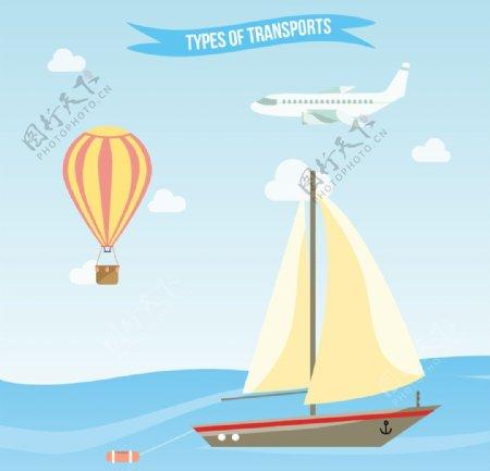 旅游交通工具插图