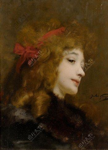 欧美女人油画