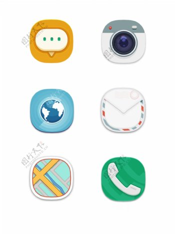 手机图标iocn电话矢量图标ui网页元素