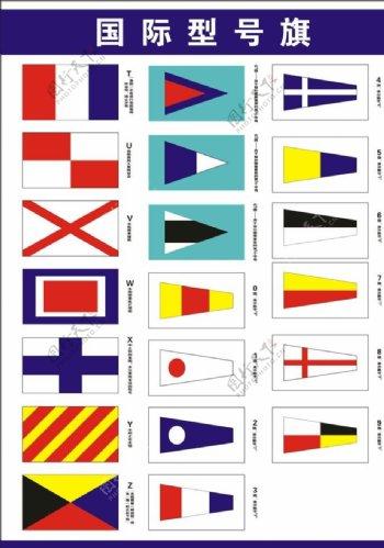 国际型号旗