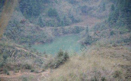 乡村灌溉水库