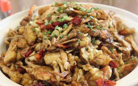 砂锅香辣蟹
