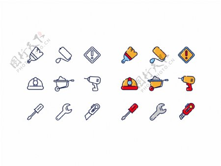 原创工具icon设计