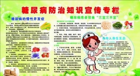 糖尿病防治知识宣传