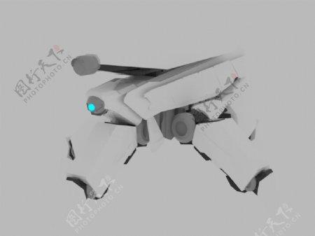 机器人3D设计模板