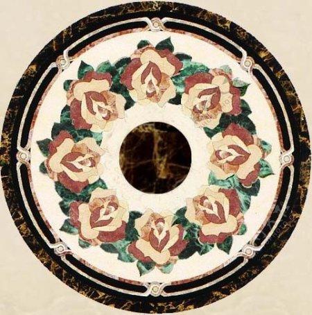 欧式花纹瓷砖贴图