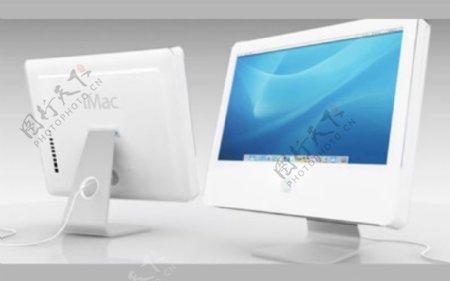 imac台式电脑的3d模型